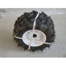 Комп. гуми с джанти 3.50-6 цола