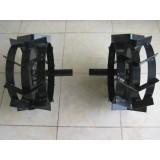 Метални колела за мотофреза к-т Ф400мм